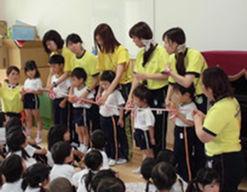 認定こども園第二新座幼稚園(埼玉県新座市)の様子