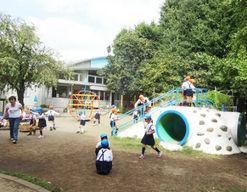 福田幼稚園(東京都渋谷区)の様子