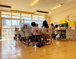上中里幼稚園(東京都北区)の様子