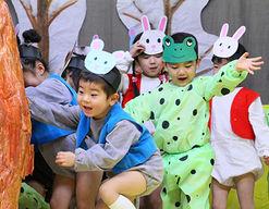 東京女子学院幼稚園(東京都西東京市)の様子