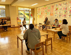 久が原幼稚園(東京都大田区)の様子