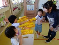 幼稚園型認定こども園 第三あおい幼稚園(富山県射水市)の様子