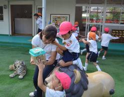 認定こども園 赤坂台幼稚園(大阪府堺市南区)の様子