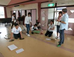 和歌山中央幼稚園(和歌山県岩出市)の様子