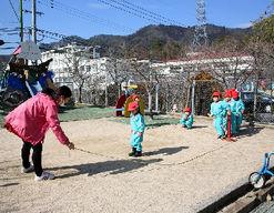 藤の木幼稚園(広島県広島市佐伯区)の様子