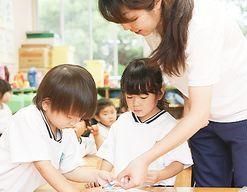 いしざき幼稚園(福岡県筑紫野市)の様子