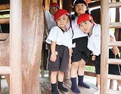 みかさの幼稚園(福岡県筑紫野市)の様子
