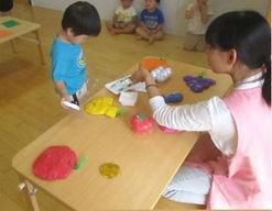 三田市民病院院内保育園(兵庫県三田市)の様子
