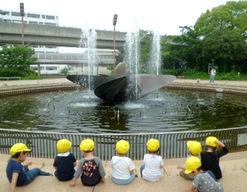 兵庫県立こども病院院内保育室(兵庫県神戸市中央区)の様子