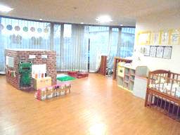 岡波総合病院なみっこルーム(三重県伊賀市)の様子