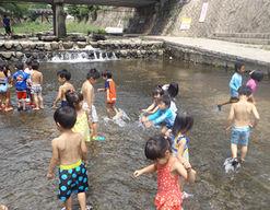 柏の葉キャンパス保育園(千葉県柏市)の様子