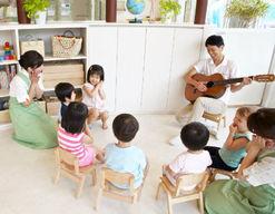 PEVEモリの子保育園(静岡県湖西市)の様子