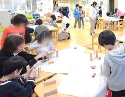 宮前小学校内学童保育クラブ(東京都目黒区)の様子