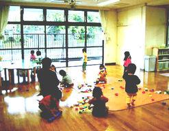 なみのり第二保育園(東京都八王子市)の様子