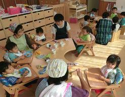 つぼみ保育園(愛知県豊川市)の様子
