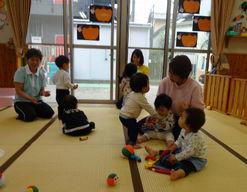 なかよし保育園(岡山県岡山市北区)の様子