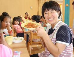 くまの中央保育園(広島県安芸郡熊野町)の様子