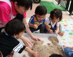 幼保連携型認定こども園合川幼稚園(福岡県久留米市)の様子