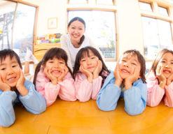 川崎保育園(福岡県八女市)の様子