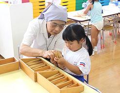 認定こども園 聖母被昇天学院幼稚園(大阪府箕面市)先輩からの一言