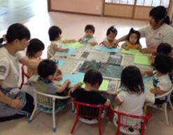神崎中央病院くすのき保育園(滋賀県東近江市)の様子