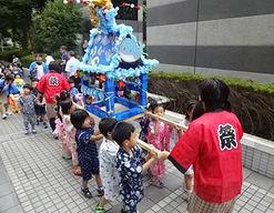 グレース保育園(東京都江東区)の様子