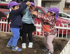 幼保連携型認定こども園おかだまのもり(北海道札幌市東区)の様子