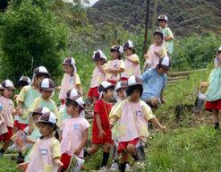 さつき幼稚園(福岡県福岡市早良区)の様子