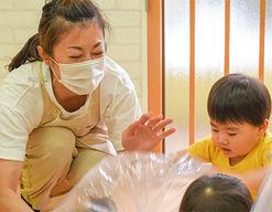 むぎの保育園(福岡県福岡市博多区)の様子
