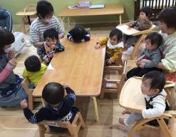 栗の木保育園(熊本県熊本市東区)の様子