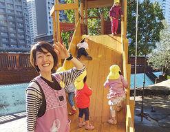 月島聖ルカ保育園(東京都中央区)の様子