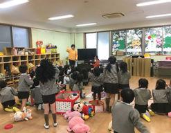 明聖第二幼稚園(東京都江戸川区)の様子