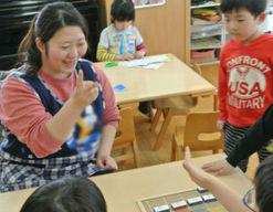 富士見第一保育園(東京都羽村市)の様子