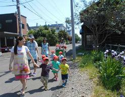 もりのなかま保育園札幌山鼻園(北海道札幌市中央区)の様子