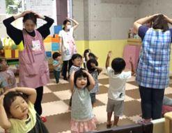 杜の子保育園(千葉県習志野市)の様子