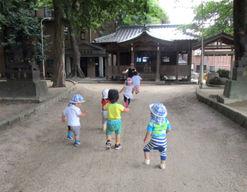 企業主導型保育園ピノッキオ名島(福岡県福岡市東区)の様子
