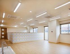 国際医療福祉大学成田病院 院内託児施設(千葉県成田市)の様子